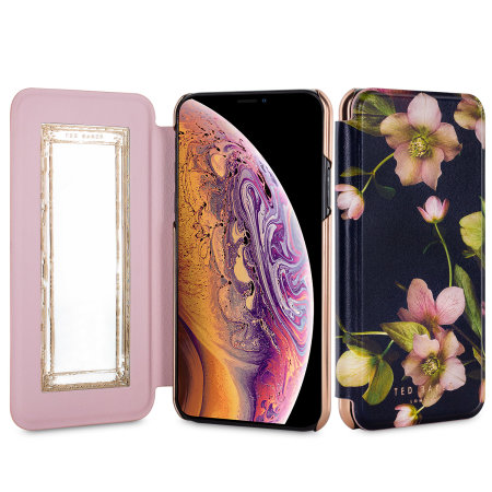 ted baker iphone xs mirror folio case - arboretum reviews
