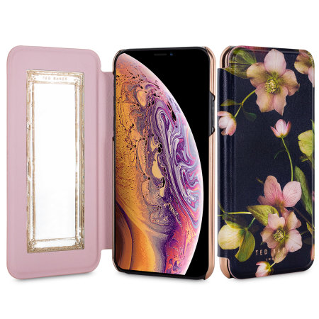ted baker iphone xs max mirror folio case - arboretum reviews