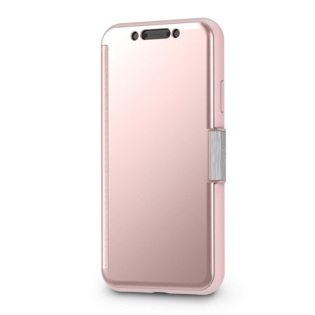 moshi stealthcover iphone xr clear view case - champagne pink reviews