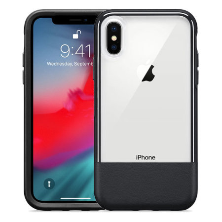 check out bc3ed eecf8 Otterbox Statement Series iPhone X Case - Black / Clear