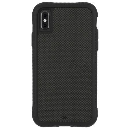 Case-Mate iPhone XS Max Genuine Carbon Fibre Case Case - Black