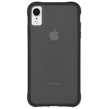 coque iphone xr noir matte