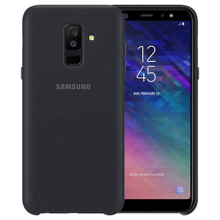 official samsung galaxy a6 plus 2018 dual layer cover case. Black Bedroom Furniture Sets. Home Design Ideas