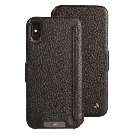 iphone xs max premium leather case