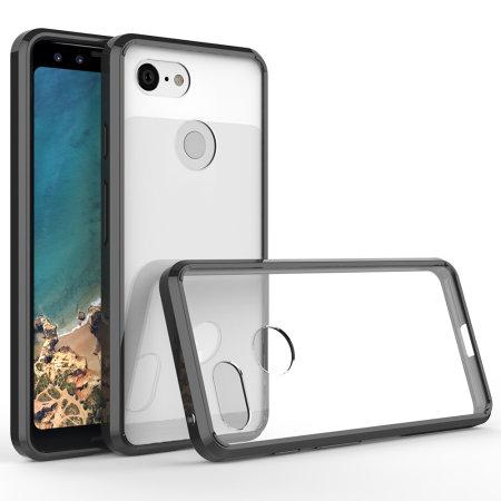 Olixar ExoShield Tough Snap-on Google Pixel XL 3 Case - Zwart