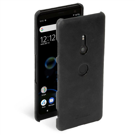 Krusell Sunne Sony Xperia XZ3 Leather Case - Black