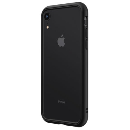 online store d31d0 3e147 RhinoShield CrashGuard iPhone XR Protective Bumper Case - Black