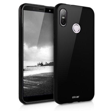 Coque HTC U12 Life Olixar FlexiShield – Coque en gel – Noir