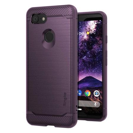 Ringke Onyx Google Pixel 3 Tough Case - Lilac Purple