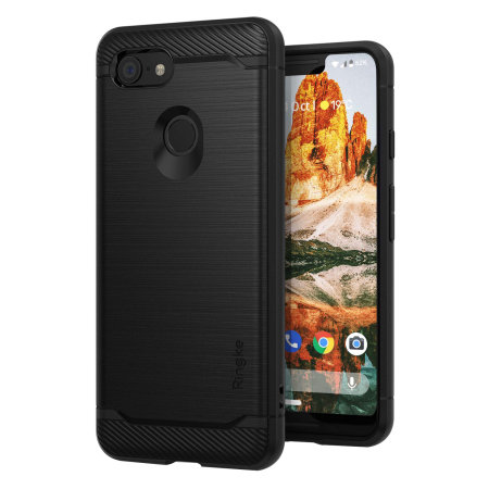 Ringke Onyx Google Pixel 3 XL Tough Case - Black