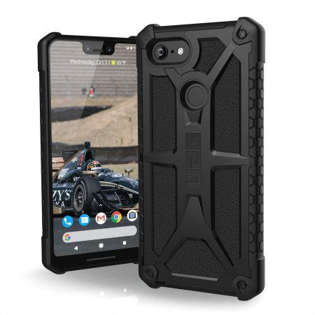 UAG Monarch Google Pixel 3 XL Case - Zwart