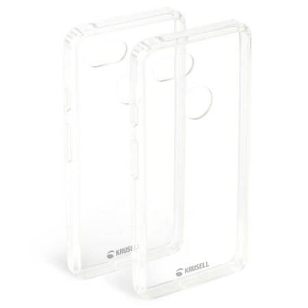 Krusell Kivik Google Pixel 3 Tough Shell Case - 100% Clear