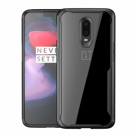official photos 33189 a196b Olixar NovaShield OnePlus 6T Bumper Case - Black