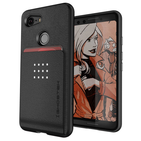 check out 31bac d3679 Ghostek Exec 2 Google Pixel 3 Wallet Case - Black