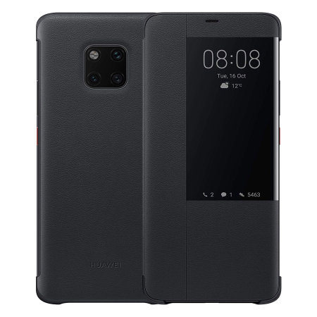 premium selection 36197 2828f Official Huawei Mate 20 Pro Smart View Flip Case - Black