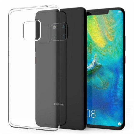 Official Huawei Mate 20 Pro TPU Case - Clear
