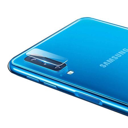 Olixar Samsung Galaxy A7 2018 Glass Camera Protectors - Twin Pack
