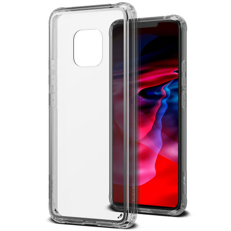 VRS Design Crystal Chrome Huawei Mate 20 Pro Case - Clear