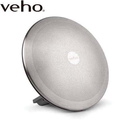 Veho M8 Portable Wireless Bluetooth Speaker - Silver
