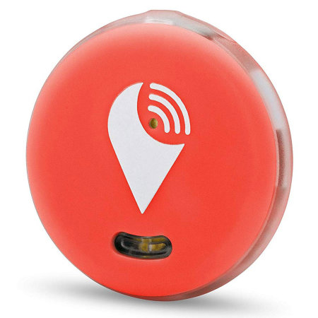 TrackR Pixel Valuables Bluetooth Tracking Device - Red