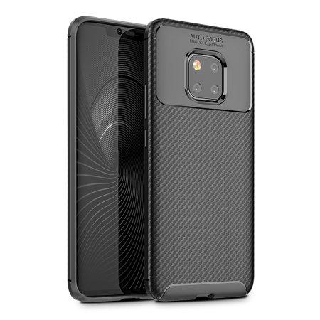 best service 9b39b 0b663 Olixar Huawei Mate 20 Pro Carbon Fibre Case - Black