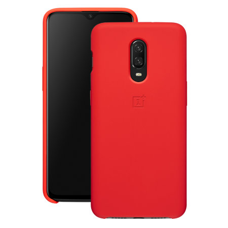 the best attitude 200bf a06c2 Official OnePlus 6T Silicone Protective Case - Red