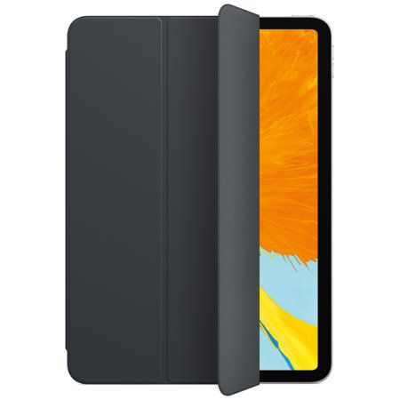 new concept ef4e4 01102 Comma iPad Pro 11 Leather-Style Smart Folio Case - Black