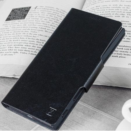 Housse Sony Xperia 10 Plus Olixar portefeuille avec support – Noir