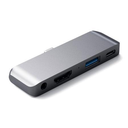 Satechi iPad Pro 2018 USB-C Mobile Pro Multiport Hub - Space Grey