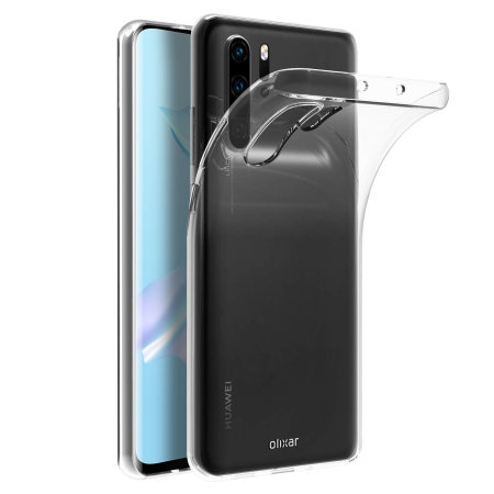 Olixar Ultra-Thin Huawei P30 Pro Gel Case - Clear
