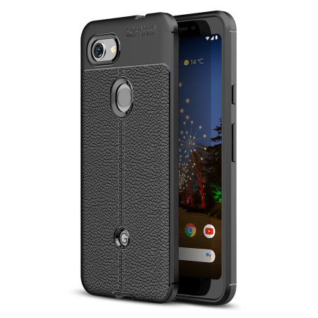 Olixar Attache Google Pixel 3a Leather-Style Case - Black