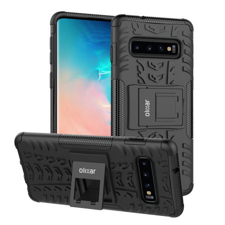 Olixar ArmourDillo Samsung Galaxy S10 Plus Protective Case - Black