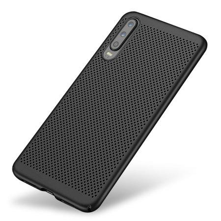 Olixar MeshTex Huawei P30 Case - Tactical Black