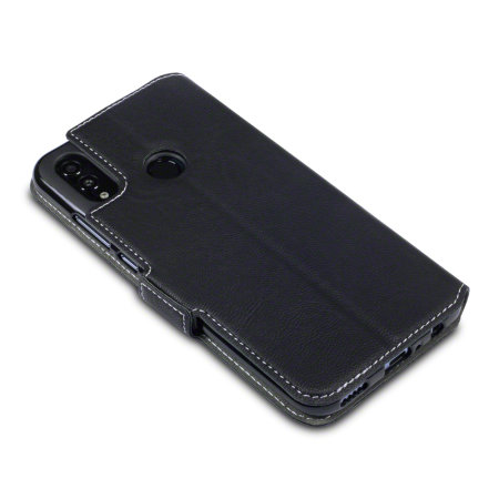 Olixar Huawei P Smart 2019 Low Profile Wallet Case - Black