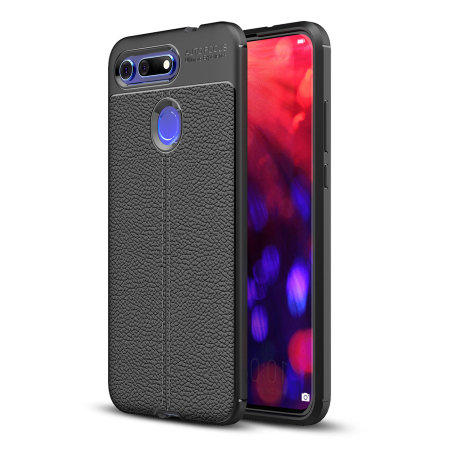 Olixar Attache Huawei Honor View 20 Leather-Style Case - Black