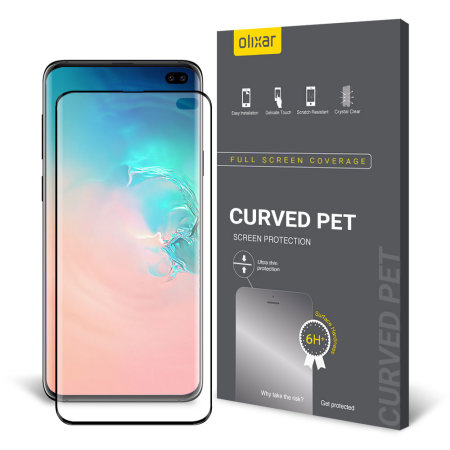 Olixar Samsung Galaxy S10 Plus PET Curved Screen Protector