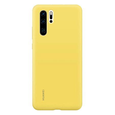 Official Huawei P30 Pro Silicone Case - Yellow