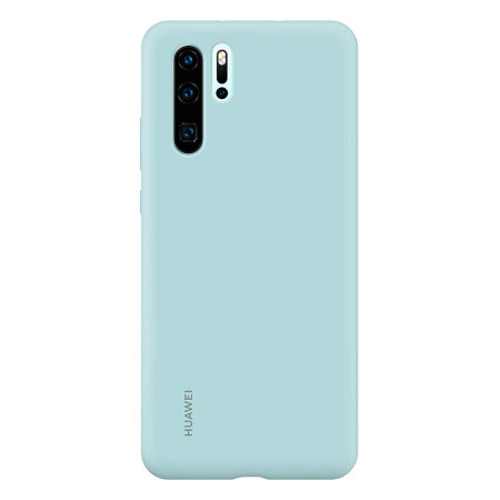 Official Huawei P30 Pro Silicone Case - Light Blue