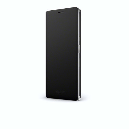 Housse officielle Sony Xperia 10 Plus Style Cover Stand SCSI20 – Noir