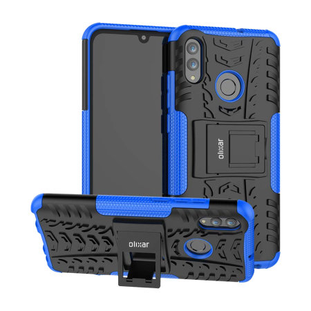 Olixar ArmourDillo Huawei P Smart 2019 Protective Case - Blue