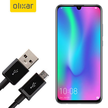 Olixar Huawei Honor 10 Lite Power, Data & Sync Cable - Micro USB
