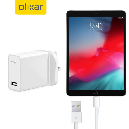 High Power iPad Pro 12.9 2018 Wall Charger & 1m Cable