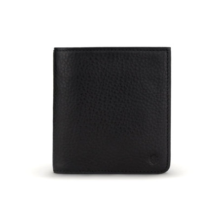 Nodus Hifold Coin Wallet - Ebony Black