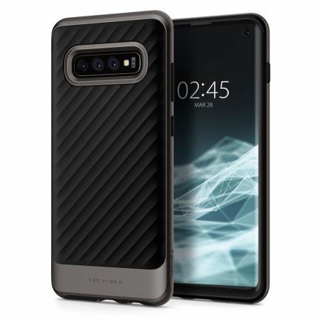 06d04defd8f Spigen Neo Hybrid Samsung Galaxy S10 Case - Gun Metal