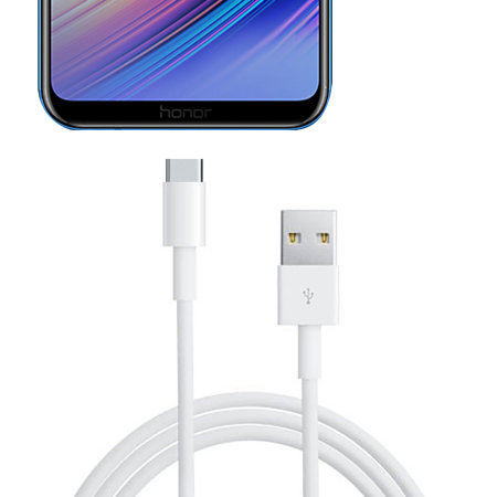 Official Huawei Honor Play SuperCharge USB-C Cable 1m -  White