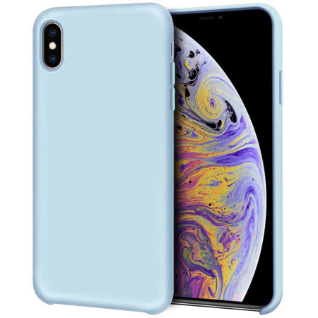 coque bleu iphone xs
