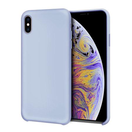 Funda iPhone XS Max Olixar Soft Silicone - Azul