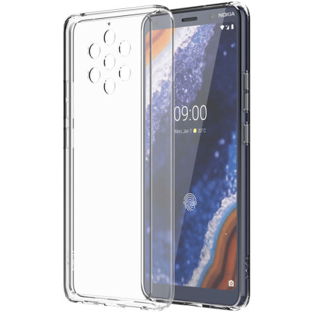 Official Nokia 9 Pureview Premium View Case - Clear