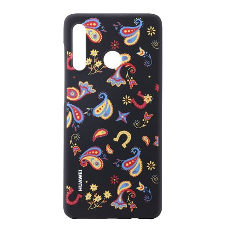 Official Huawei PC Cover P30 Lite Case - Floral Black