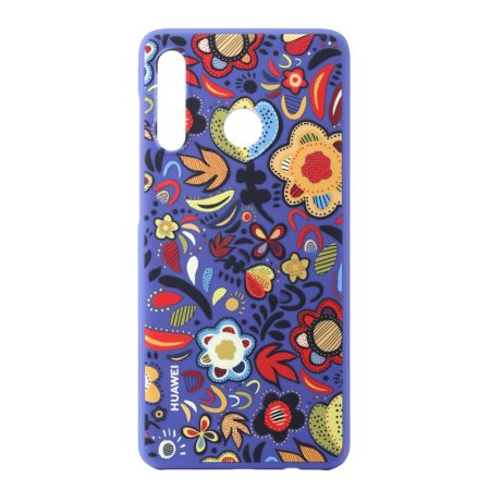Official Huawei PC Cover P30 Lite Case - Floral Blue